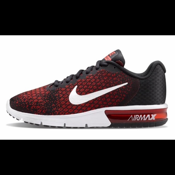 free shipping 1f2cc 9ac12 The Nike Air Max Sequent 2 Red and Black Size 11